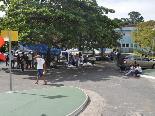 Greve será por tempo indeterminado (Foto: Rubens Souza/Divulgação)