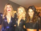 Daniella Cicarelli e Ticiane Pinheiro arrasam com looks decotados