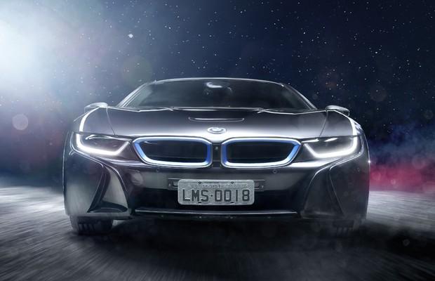 BMW i8 (Foto: Leonardo Sposito / Autoesporte)