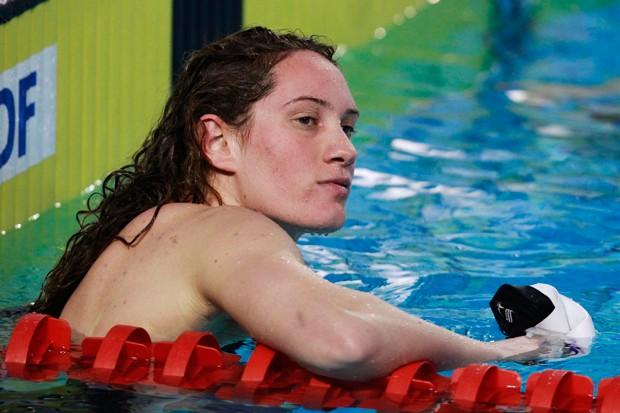 A nadadora Camille Muffat era atual campeã olímpica (Foto: REUTERS/Pascal Rossignol)