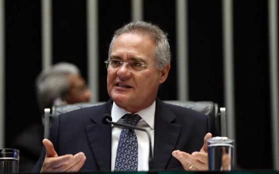 O presidente do Senado Renan Calheiros  (Foto: José Cruz/ABR)