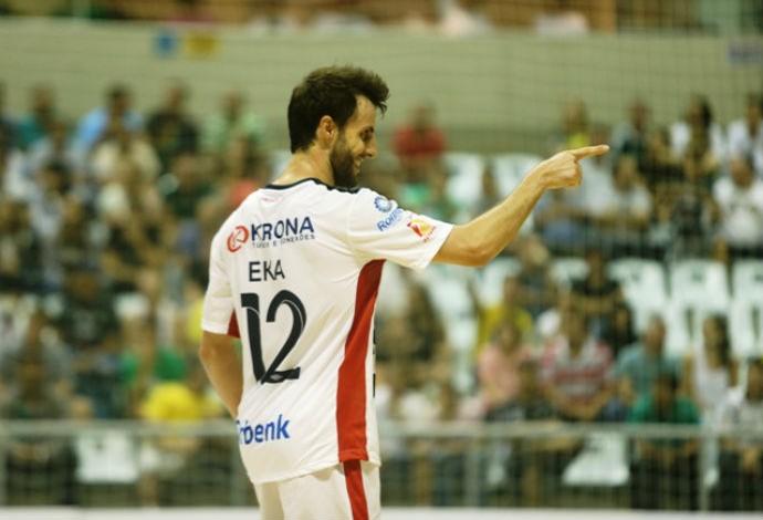 Eka Joinville futsal (Foto: Fabrízio Motta/Divulgação)