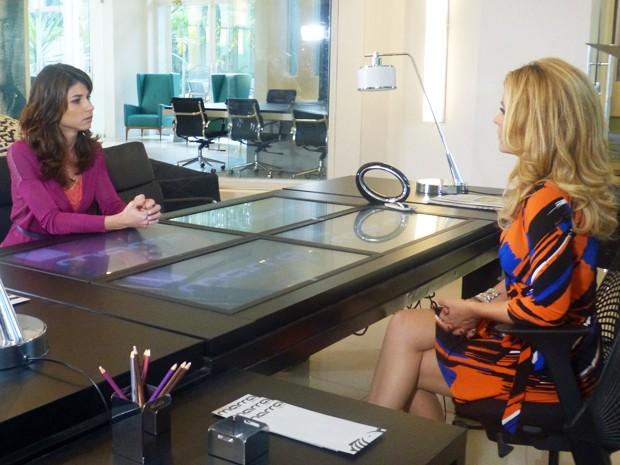 Manu fica cabreira com convite de Pamela  (Foto: Geração Brasil/ TV Globo)