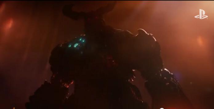Doom ganhou um novo trailer que mostra o monstro Cyberdemon. (Foto: Reprodução/YouTube) (Foto: Doom ganhou um novo trailer que mostra o monstro Cyberdemon. (Foto: Reprodução/YouTube))