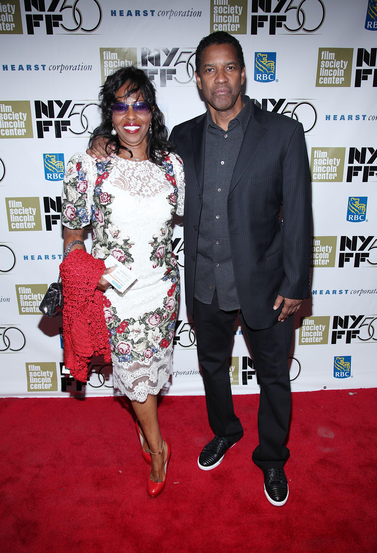 Em Julho de 2013, a revista Star publicou que o casamento dos dois estava por um fio e que o divórcio era iminente. Denzel declarou posteriormente que os rumores de separação e infidelidade eram falsos. Eles estão casados desde 1983. (Foto: Getty Images)