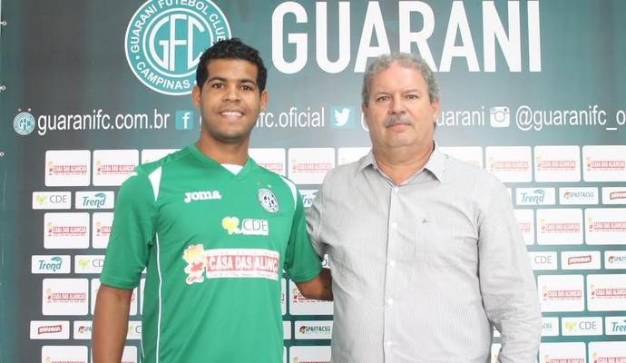 Renato Silva atacante Guarani (Foto: Gabriela Del Rio / Guarani FC)