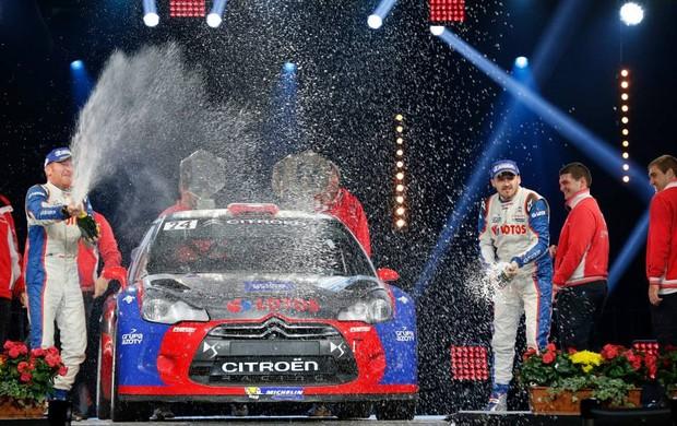 Robert Kubica vitória WRC Mundial de Rali França (Foto: Divulgação WRC)