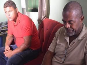 Dono do edífico visitou Josevaldo uma semana após desabamento (Foto: Patrícia Cavalho/G1)