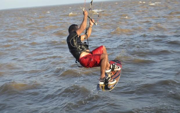 kitesurf amapa (Foto: Jonhwene Silva/GE-AP)