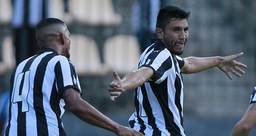 uma só dentada (Vitor Silva/SSPress/Botafogo)