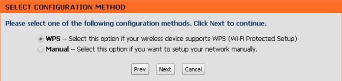Caso seu roteador tenha suporte WPS, selecione a opção e clique em Next (Foto: Reprodução/Karen Malek)