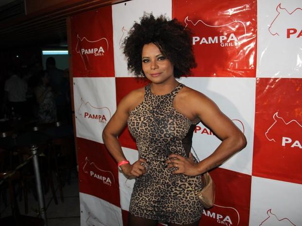 Adriana Bombom em evento no Rio (Foto: Divulgação)
