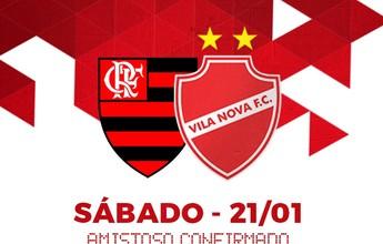 Vila Nova x Flamengo: jogo amistoso já soma sete mil ingressos vendidos