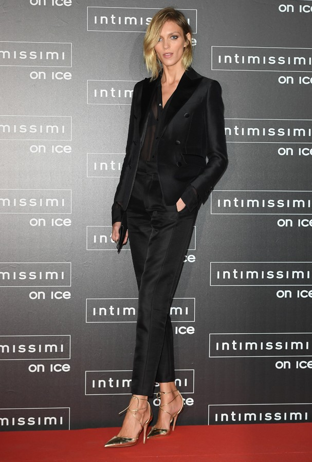 VERONA, ITALY - OCTOBER 07:  Anja Rubik attends Intimissimi On Ice at Arena on October 7, 2016 in Verona, Italy.  (Photo by Venturelli/Getty Images) (Foto: Getty Images)