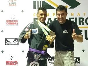 Lutador de jiu-jtsu de Uberlândia, Bruno Rodrigues  (Foto: Bruno Rodrigues / Arquivo pessoal)