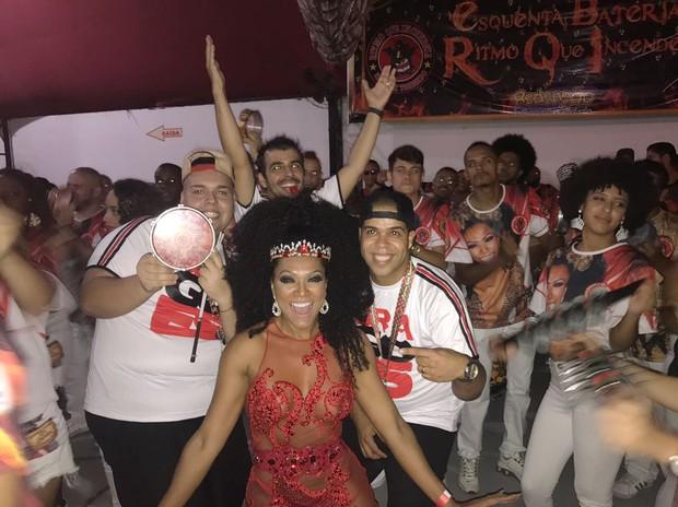 Simone Sampaio (Foto: Dragões da Real / Divulgação)