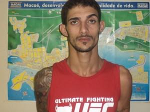 Traficante de Macaé (Foto: Divulgação/PM)
