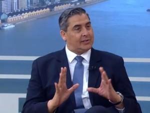 Feltes admite que decreto de calamidade não tem efeito legal (Foto: Reprodução/RBS TV)