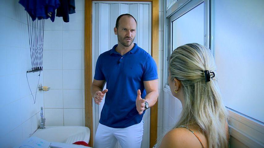 Gustavo Pilon, no ESTV 1ª Edição (Foto: Divulgação/ TV Gazeta)
