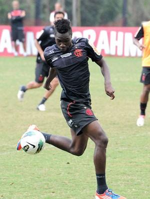Negueba, treino do Flamengo (Foto: Alexandre Vidal / Fla Imagem)