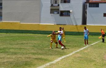 Com quatro gols de Lambiru, Tupy-ES vence jogo-treino contra o Ilha Real