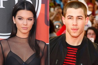 Kendall Jenner e Nick Jonas (Foto: Agência Getty Images / Mark Blinch - Reuters)