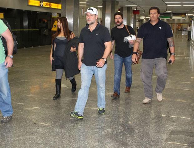 Russell Crowe (Foto: Francisco Silva e Delson Silva/AgNews)