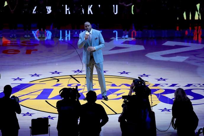 Magic Johnson será o novo homem-forte dos Lakers (Foto: Getty Images)