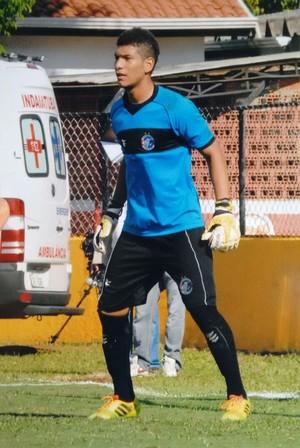 Maurício Santos, goleiro do Araguaína (Foto: Israel de Oliveira/ Divulgação)