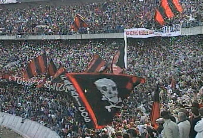 Atlético-PR Atletiba 1990 (Foto: Reprodução/RPC)