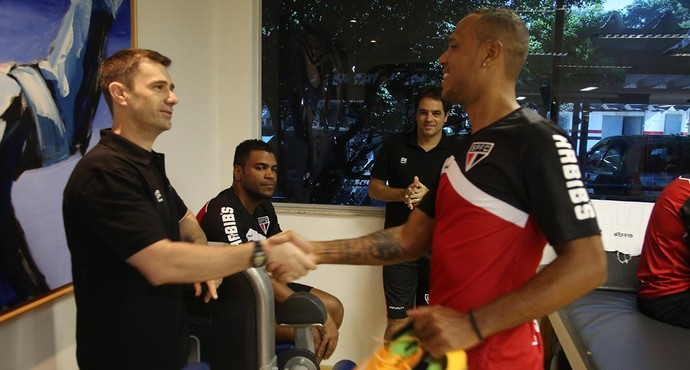 Luis Fabiano São Paulo (Foto: Rubens Chiri/site oficial do SPFC)