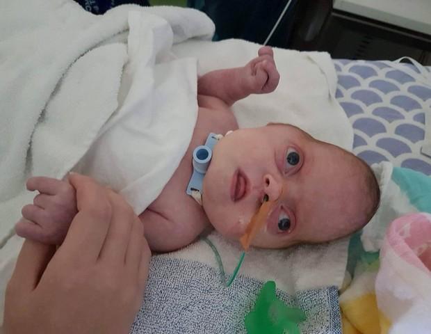 A família de Apryl está fazendo um crowdfunding para ajudar no tratamento (Foto: Arquivo pessoal / gofundme)