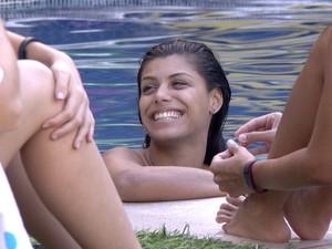 BBB às 17h17m do dia 30/01. (Foto: Big Brother Brasil)