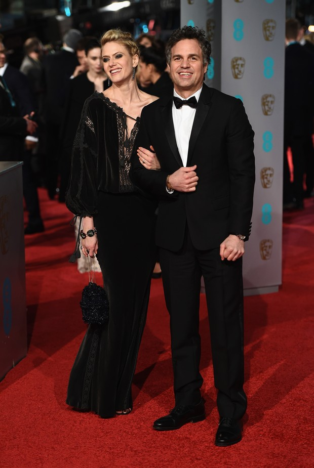 Sunrise Coigney e Mark Ruffalo (Foto: Getty Image)
