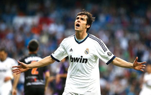 Kaká comemoração gol Real Madrid Real Valladolid (Foto: Reuters)