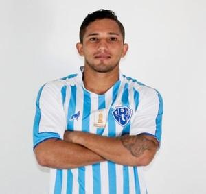 Wilkerson vem ganhando oportunidades com Marcelo Chamusca (Foto: Divulgalção/Site oficial do Paysandu)