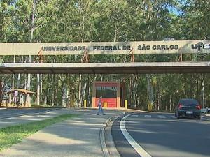 UFSCar em São Carlos (Foto: Reprodução/EPTV)