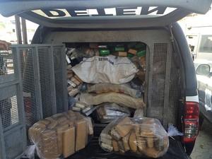 Quase duas toneladas de drogas são incineradas, em Vitória (Foto: Assessoria de Comunicação/PC)