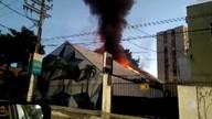 Mais de R$ 200 mil de prejuízo: incêndio atinge boate