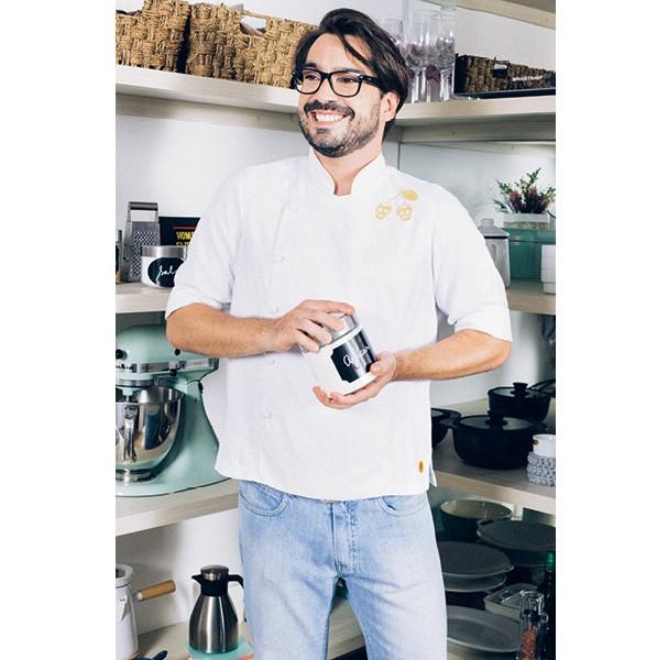 """Sim, Corazza  vai até sua casa preparar um... salgado! """"Amo fazer bacalhau com pipoca"""", diz  (Foto: Ítalo Gaspar)"""