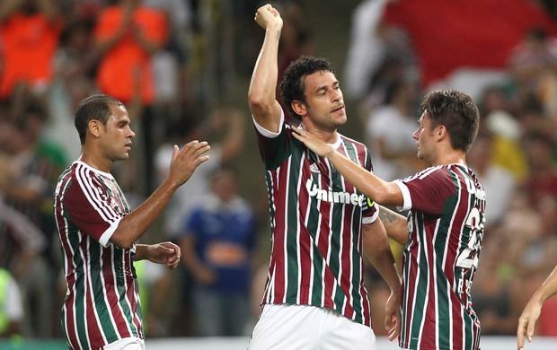 Fred Fluminense x Figueirense (Foto: Matheus Andrade/Photocamera)