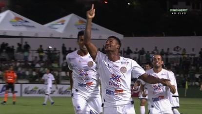 Veja os gols da vitória da Aparecidense sobre o Goiás por 2 a 1