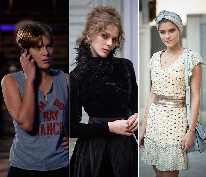 Isabella Santoni em 'Malhação', 'Ligações Perigosas' e 'A Lei do Amor' (Foto: Gshow)