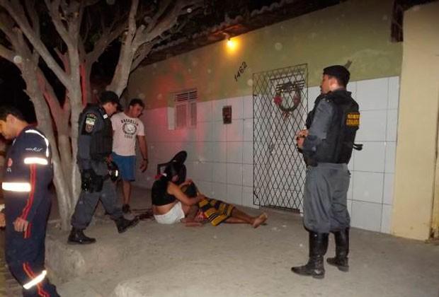 Leandro Avelino da Silva, de 29 anos, morreu em frente à casa da nomorada (Foto: Marcelino Neto)