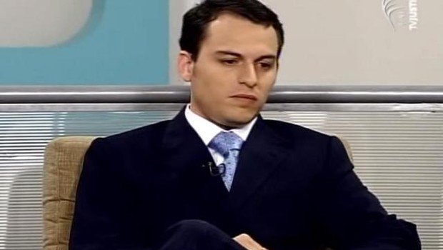 O advogado Tiago Cedraz Leite de Oliveira, um dos alvos da Operação Abate 2 da Lava Jato (Foto: Reprodução/TV Justiça)