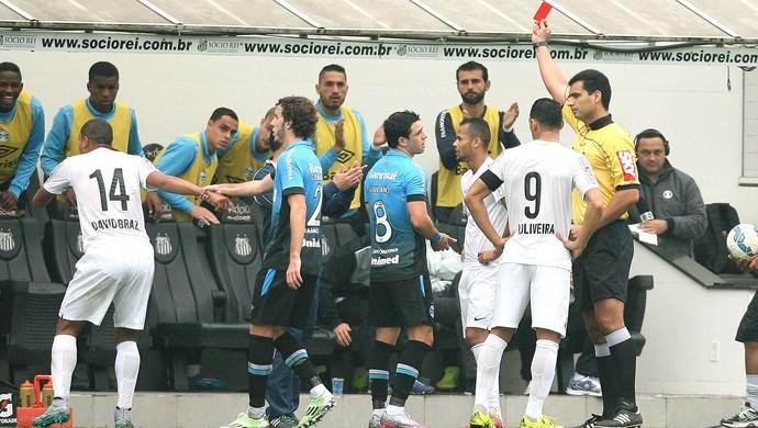 Geuvânio, Santos X Grêmio (Foto: Guilherme Dionizio / Estadão Conteúdo)