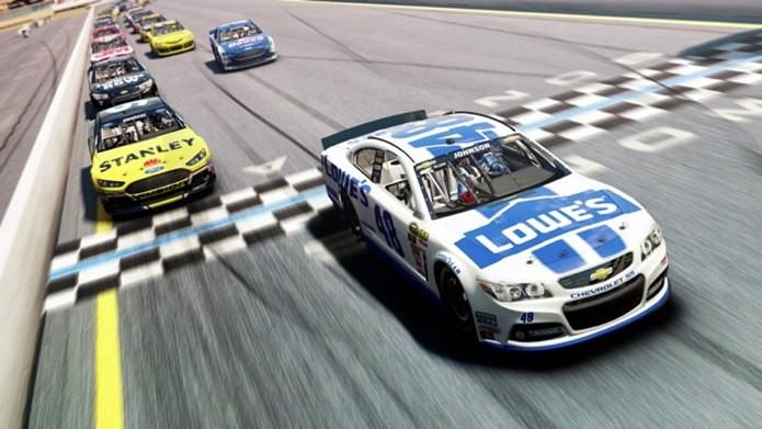 NASCAR 2014 é o jogo oficial do popular campeonato de Stock car americano (Foto: Divulgação)