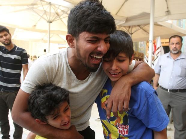 Atentado de domingo em Bagdá foi o mais sangrento do último ano  (Foto: Alaa Al-Marjani/ Reuters)