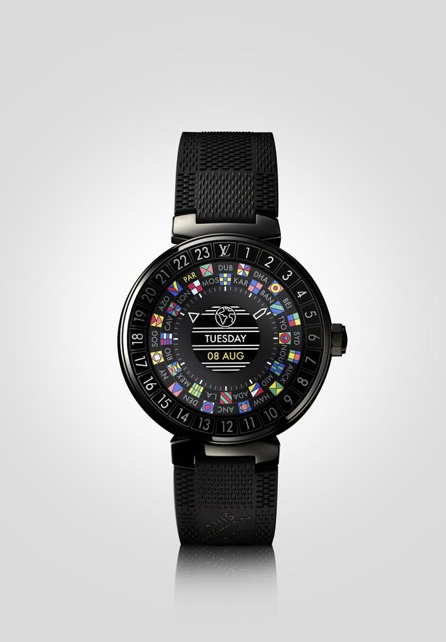 The Tambour Horizon da Louis Vuitton em versão preta (Foto: Reprodução)