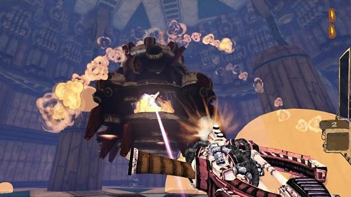 Tower of Guns traz desafios e chefes em vários andares no PlayStation 4 e PS3 (Foto: Reprodução/Gameranx)